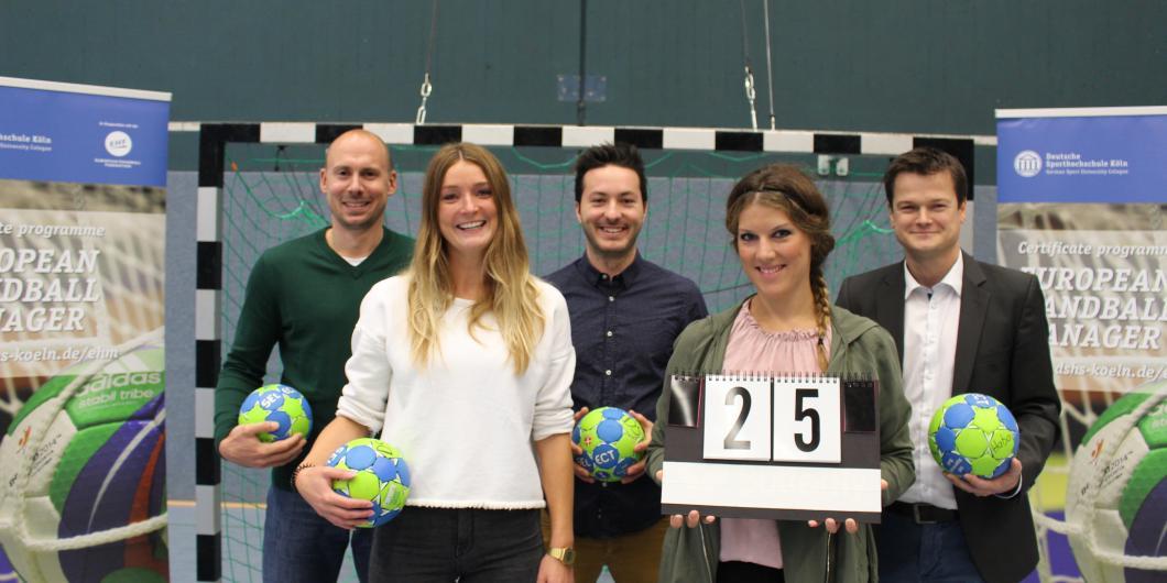 German Sports University Cologne wishes the EHF 'happy birthday'   EHF